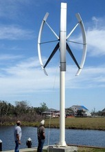100kw Vertical Axis Wind Turbine/Wind Generator System pictures & photos