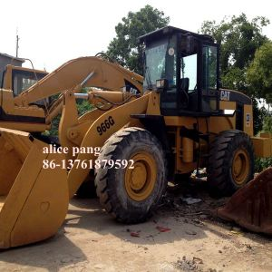 Used Caterpillar 966g Wheel Loader for Cat Front Loader Sale pictures & photos