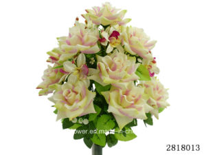 Artificial/Plastic/Silk Flower Rose/Orchid Bush (2818013) pictures & photos