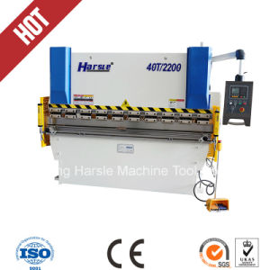 Wc67k-40t/2200 Hydraulic Press Brake Machine in High Quality pictures & photos
