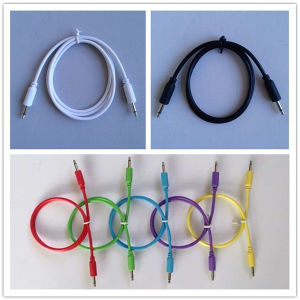 3.5mm Mono Jack to Jack Male Plug Cable pictures & photos