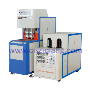 2 Cavities Semi Automatic Plastic Bottle Blowing Machine pictures & photos
