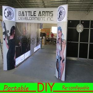 Versatile Modular Reusable Portable TV Trade Show Counter Craft Display Stand pictures & photos