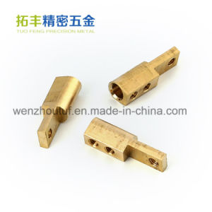 Tuofeng Precision Hardware Manufacturer Brass Cable Connector pictures & photos
