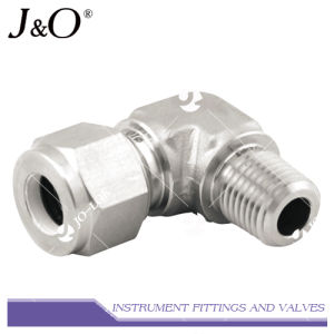 Stainless Steel Connector 90 Degree Elbow Pipe Fitting pictures & photos