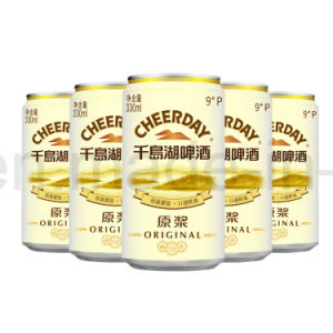 Canned 4%Alc 330ml Lager Beer Without Filtration pictures & photos