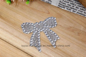 Glitter Sticker Bowknot Crystal Rhinestone Sticker for Skin Stick (TS-506 bowknot) pictures & photos