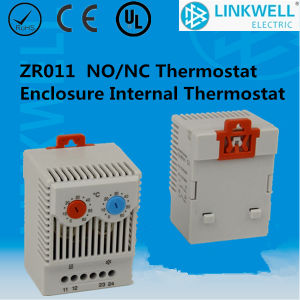 Control Panel DIN Rail Mounting Bimetal Temperature Thermostat (KTO011 KTS011) pictures & photos