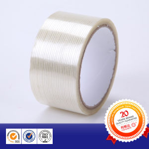 Glass Fibre Adhesive Tape Glass Banding Tape for Strip-Type pictures & photos