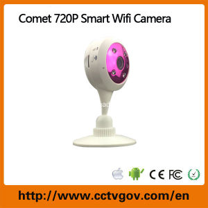Low Cost 720p 1.0 Megapixels WiFi IP Camera with Onvif P2p Plug Play Wirelss IP Camera Home Smart Security Camera pictures & photos