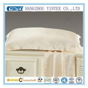 100% Mulberry Silk 22mm Satin White Silk Pillowcase pictures & photos