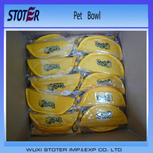 Wholesale Oxford Portable Waterproof Pet Travel Water Bowl Dog Bowl Cat Bowl pictures & photos