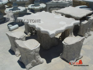 Grey Granite Stone Outdoor Park Furniture for Decoration pictures & photos