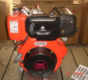 Small Air Cooled Diesel Engine 186f pictures & photos