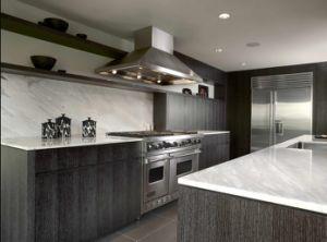 Kitchen Cabinet Simple Design Laminated Wooden Kitchen Furniture pictures & photos