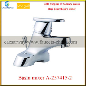 Chrome Plated Long Spout Water Kitchen Sink Faucet pictures & photos