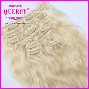 Best Selling Virgin Remy Hair Hair Clip in Extensions Full Head Set Colors Available Remy Human Clip pictures & photos