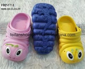 Hot Selling Kids EVA Garden Shoes Slipper Shoes (FBJ517-1) pictures & photos