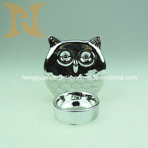 Small Owls Candle Holder (Electroplating Products) pictures & photos