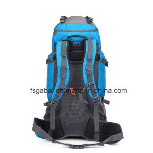 Outdoor Nylon Material External Frame Type Camping Hiking Bag Backpack pictures & photos