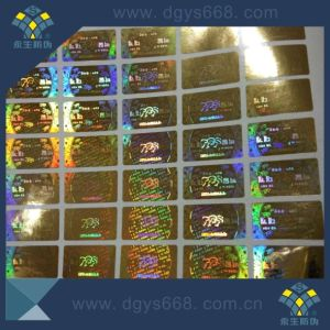 Rainbow Hologram Sticker Security Label Customized Design and Made pictures & photos