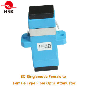 1~30dB SC/PC Singlemode Female to Female Adapter Type Attenuator pictures & photos
