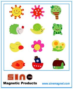 Painted Cute Wooden Cartoon Fridgemagnet/Educational Toys pictures & photos
