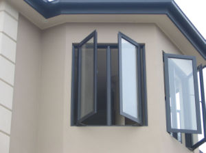 Thermal Break Aluminum Casement Window for Sale pictures & photos