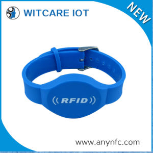 Adjustable RFID PVC Wristband for Membership Management