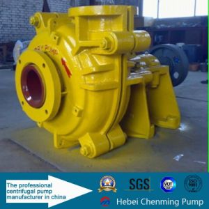 Corrosion Resistance Heavy Duty Sewage Rubber Lined Slurry Centrifugal Pumps pictures & photos