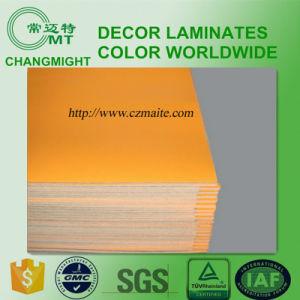 Saffron Yellow High Pressure Laminate (0.7mm) pictures & photos