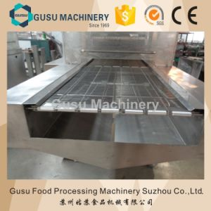 Customerized Size Chocolate Enrober Machine with Cooling Tunnel pictures & photos