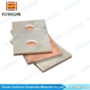 Copper-Aluminum Bi-Metal Clad Bus Bar Explosive Bonding for Conductivity pictures & photos