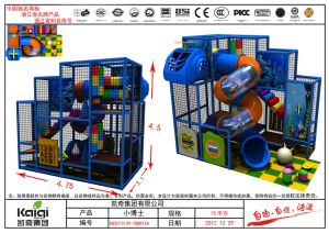 Kaiqi Kfc Indoor Playground Equipment for Children (KQ2012129-TQBK15A) pictures & photos