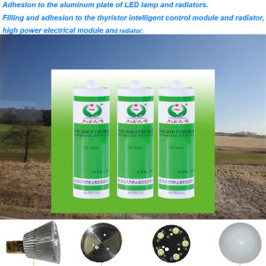Heat Conductive Liquid Silicon Rubber Neutral Silicone Sealant pictures & photos