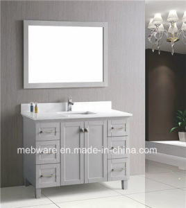 1200mm Grey Solid Wood Bathroom Furniture pictures & photos