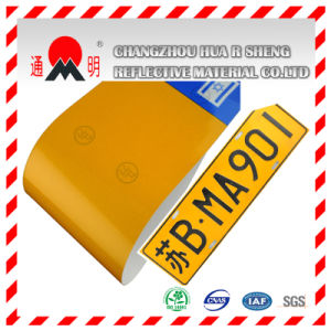 Car′s Number Plate Grade Reflective Sheeting (TM8200) pictures & photos