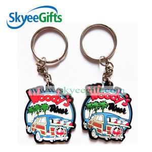 Custom 3D Soft PVC Keychain, 3D PVC ID Keychain, Soft Rubber Keychains pictures & photos