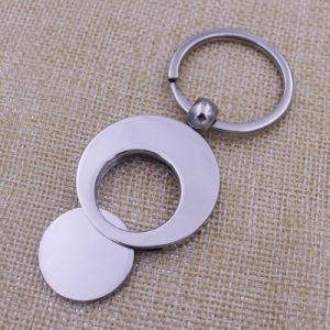 Hot Sale Fashion Custom Metal Euro Coin Holder Keychain pictures & photos