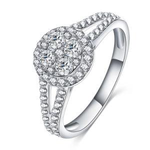 Jewelry Joias Ouro 18k Wedding Ring (CRI0289-B)
