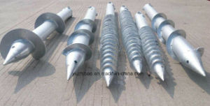 HDP Ground Screw, Steel Ground Screw Pole Anchor pictures & photos