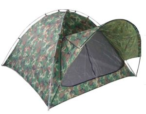 3 Person Double Wall Camouflage Camping Tent (MW4021) pictures & photos