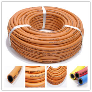Flexible En559 Standard Rubber LPG Gas Hose pictures & photos