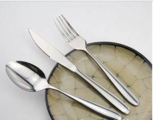 Mirror Polished Stainless Steel Fork for Tableware (C014) pictures & photos