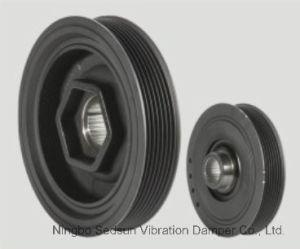Torsional Vibration Damper / Crankshaft Pulley for Honda 13810rraa02 pictures & photos