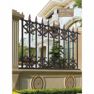 Power Coated Ornamental Aluminum Picket Garden Fence pictures & photos