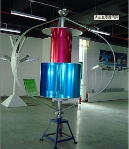 3kw Vertical Axis Wind Turbine Generator (VAWT from 200W to 10KW) pictures & photos