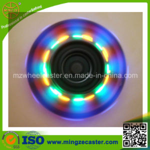 Polyurethane Inline Skate Wheels with Flashing Hub pictures & photos