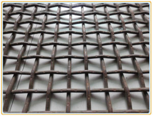 1cm Stainless Steel 304 316 316L Crimped Wire Mesh Factory pictures & photos