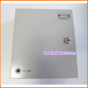 9 Channel CCTV Power Supply Box DC 12V 10A 120W, CCTV Power Distribution Unit pictures & photos